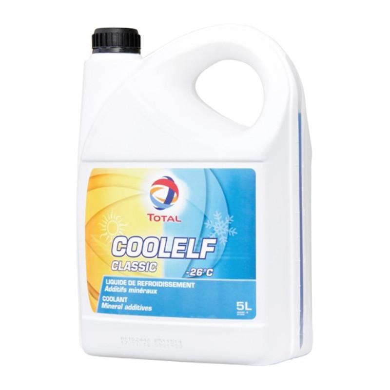 Liquide de Refroidissement - 27° C - Coolelf Eco BS 5L