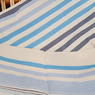 Fouta rayures tricolore (4)