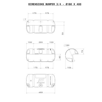 Bumper Standard 3/4 - Blanc (5)