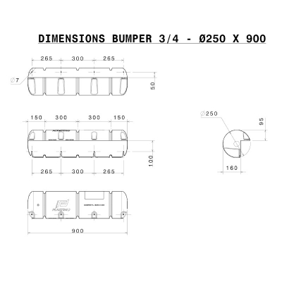 Bumper Standard 3/4 - Blanc (6)