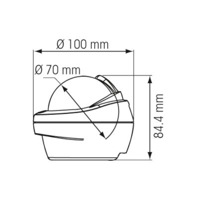 Compas Offshore sans éclairage 75 mini fût (3)
