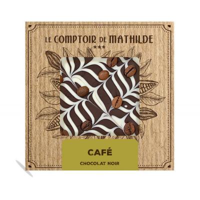 Tablette Chocolat noir Café...