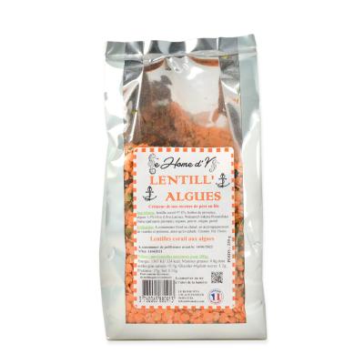 Lentilles Corail aux Algues