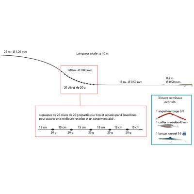 Ligne de traîne Flashmer Criminelle (3)
