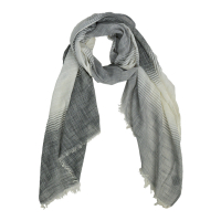 Foulard long bicolore