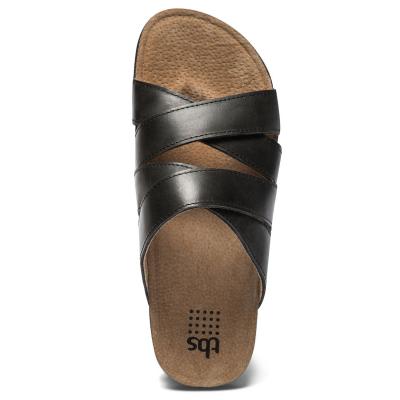 Mules cuir Tbs Saxonns (4)
