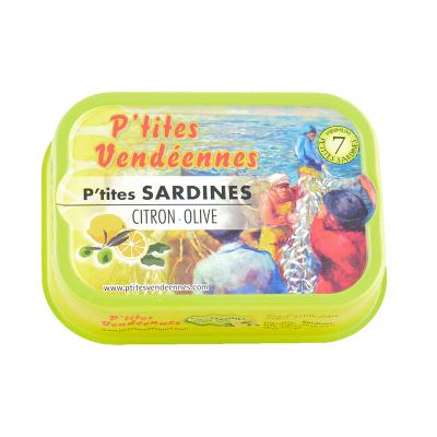Sardines - Citron Olive