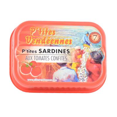 Sardines - Tomates Confites