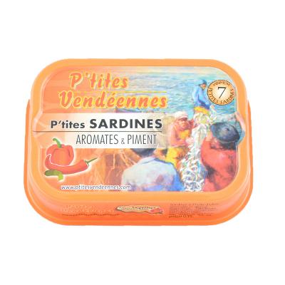 Sardines - Piments Et Aromates