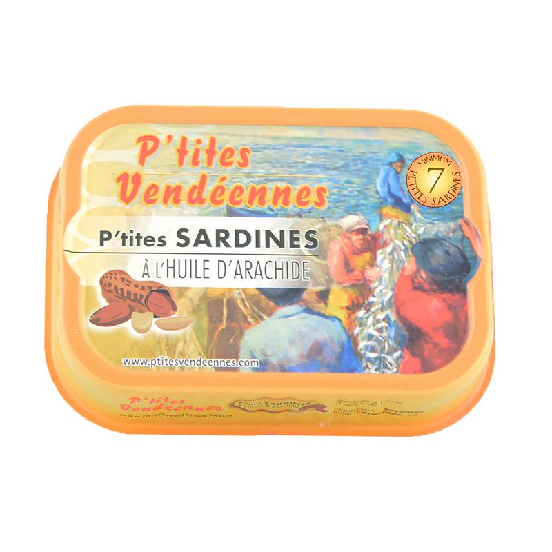 Sardines - Huile D'Arachide