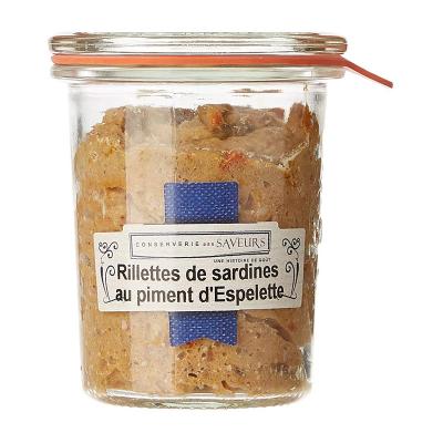 RILLETTES DE SARDINES...