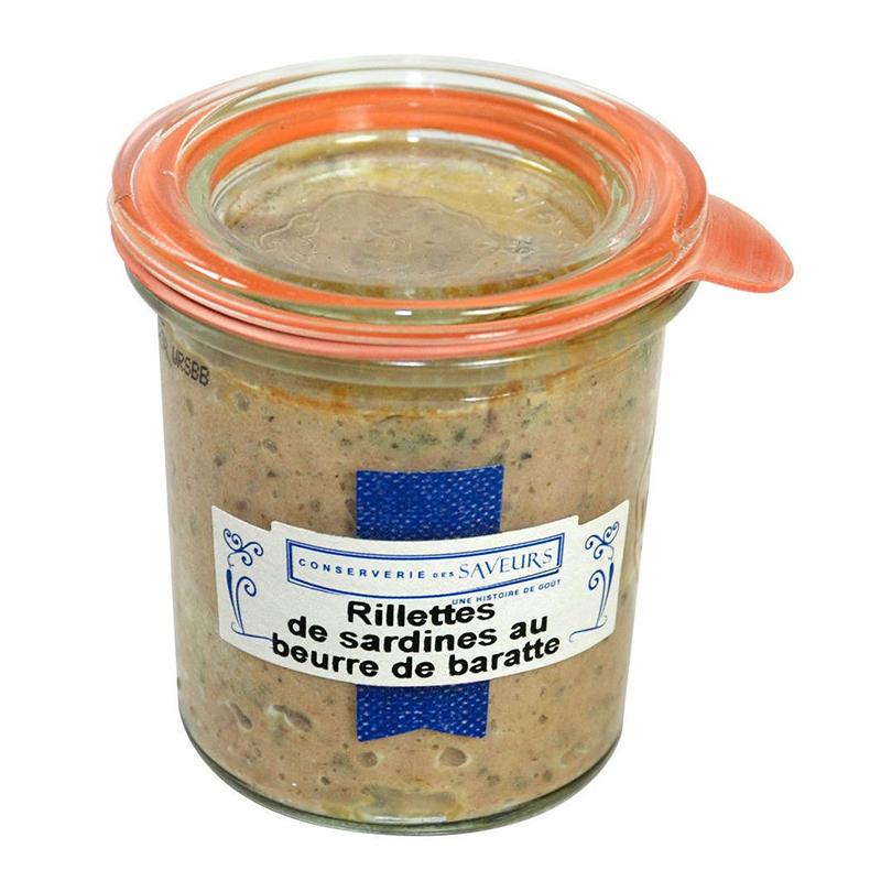 Rillettes de Sardines au Beurre Baratte