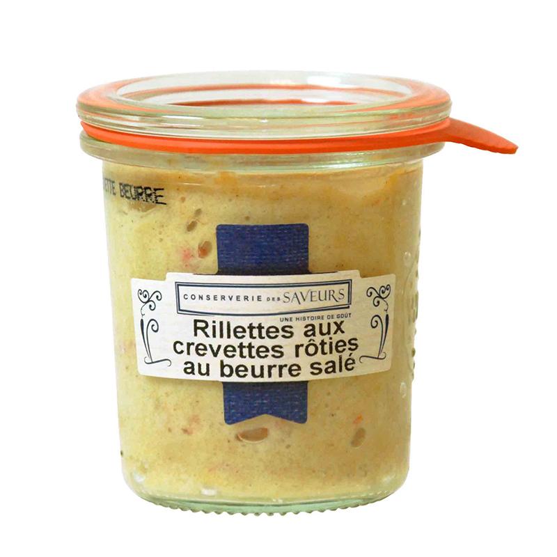 Rillettes de Crevettes Roties Au Beurre Salé
