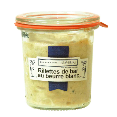 Rillettes de Bar au Beurre...