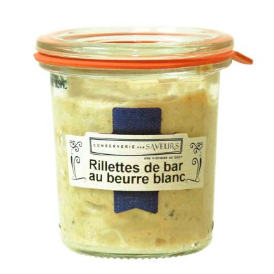 RIllettes Bar au Beurre Blanc