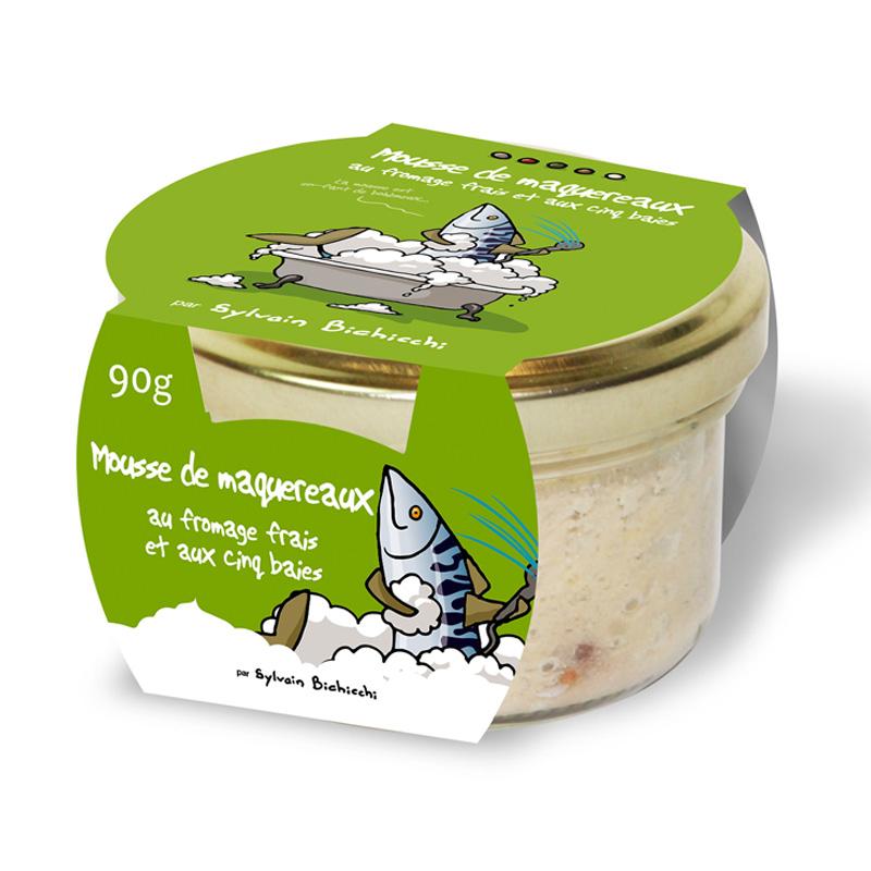 Mousse Maquereau au Fromage Frais et Baies