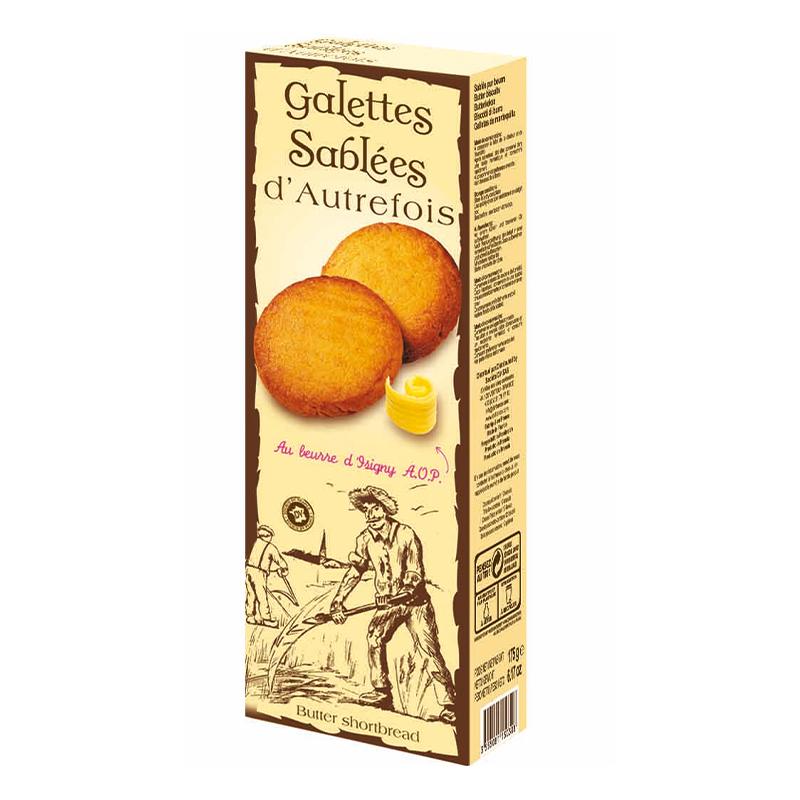 Galettes d'Autrefois au beurre d'Isigny