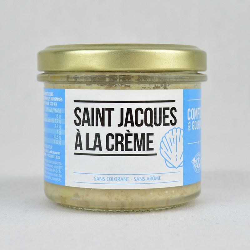 St Jacques À La Crème