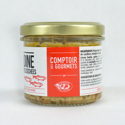 Tartinable de Sardines aux Tomates Séchées Et Basilic (3)