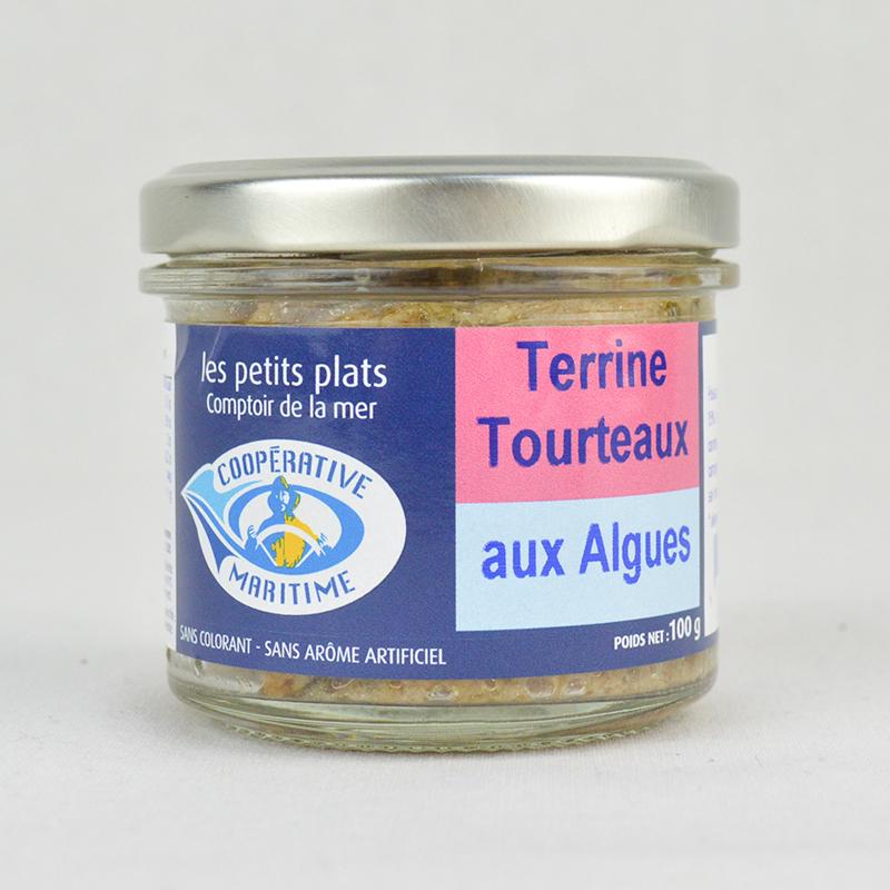 Terrine De Tourteaux Aux Algues