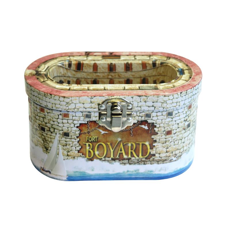 Boîte Bonbons Caramels Fort Boyard