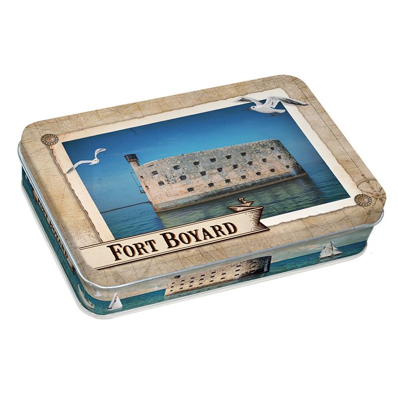 "Boîte Caramel à la crème ""Fort Boyard"""
