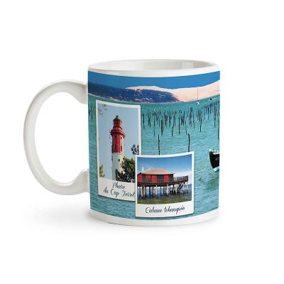 "Mug garni de Caramels au Beurre Salé ""Bassin d'Arcachon"" (3)"