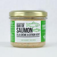 Duo de Saumon à la Crème et...
