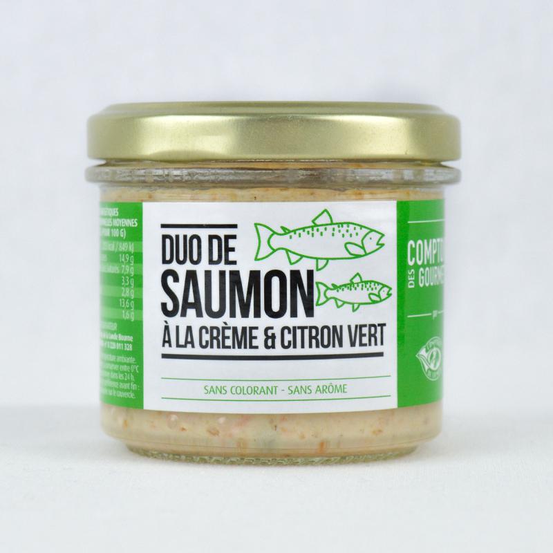Duo de Saumon à la Crème et Citron Vert