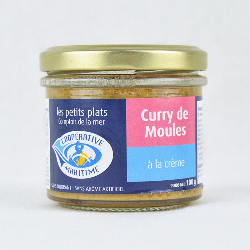 Moules à la Crème Curry