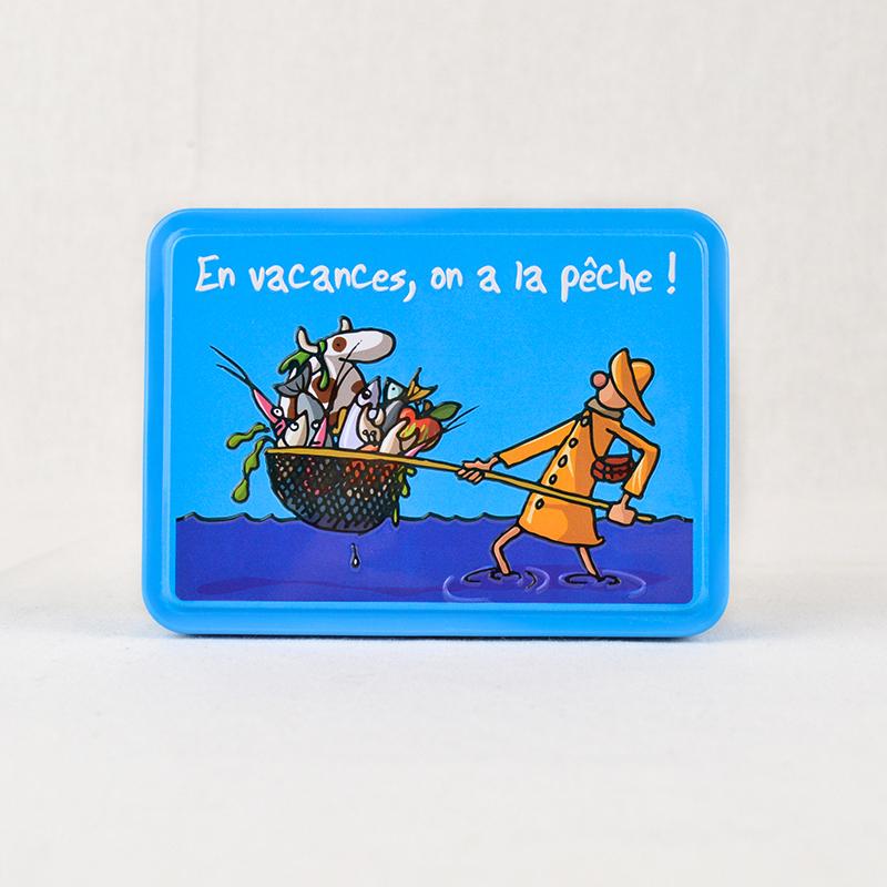 """Boîte Humoristique Caramels """"On a la Pêche !"""""""