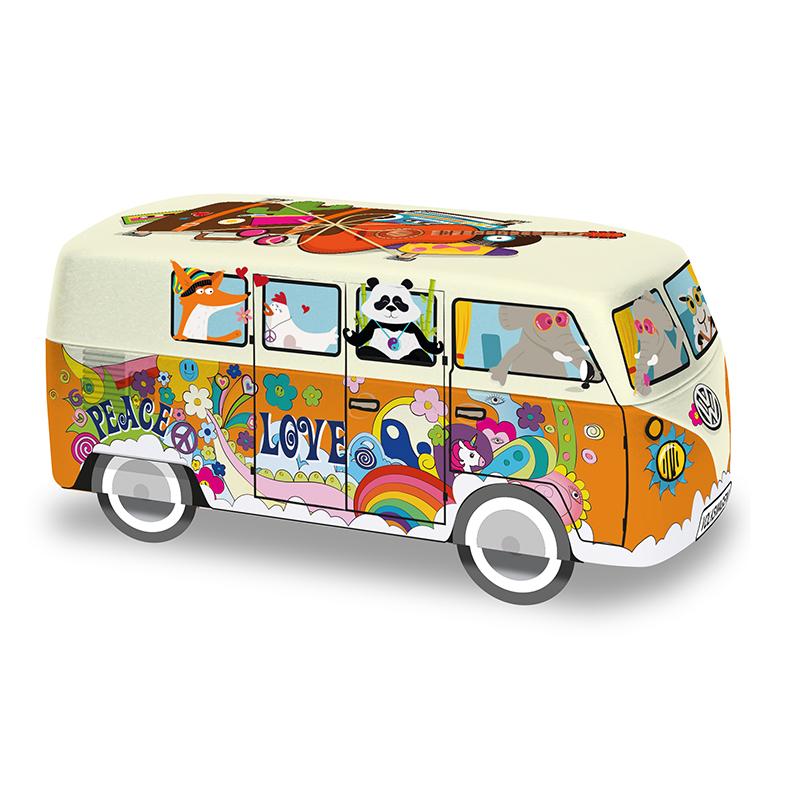 """Boîte Galettes Natures """"Van Hippie 19"""""""
