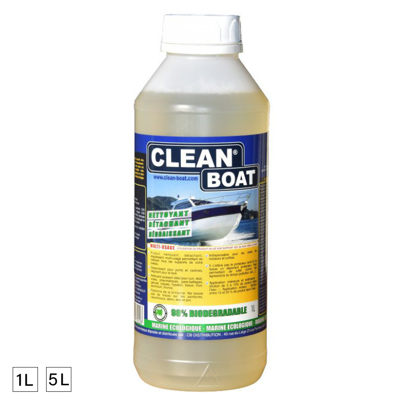 Clean Boat Multi Usage