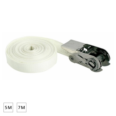 Sangle à cliquet inox - 5M / 7M (2)