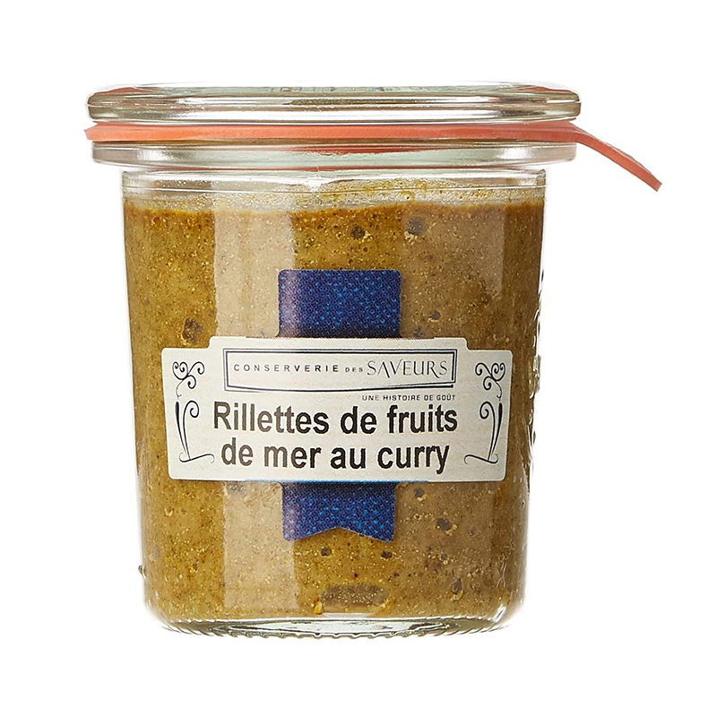 Rillettes Fruits de Mer au Curry