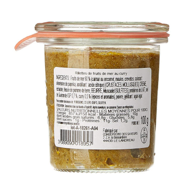 Rillettes Fruits de Mer au Curry (3)