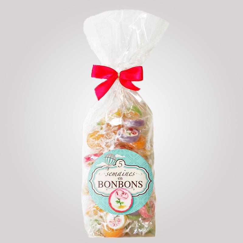 "Sachet Bonbons Roksy ""Voyage Gourmands """