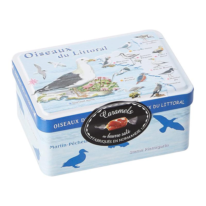 Boîte Caramels Oiseaux du Littoral