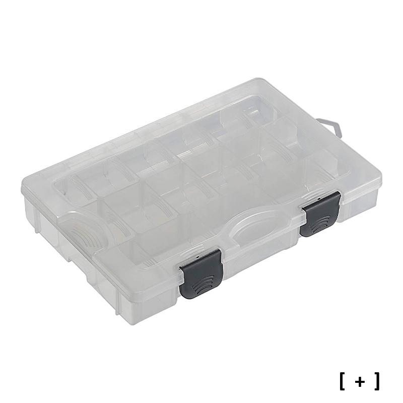 Boîte à leurres - Compartiments amovibles