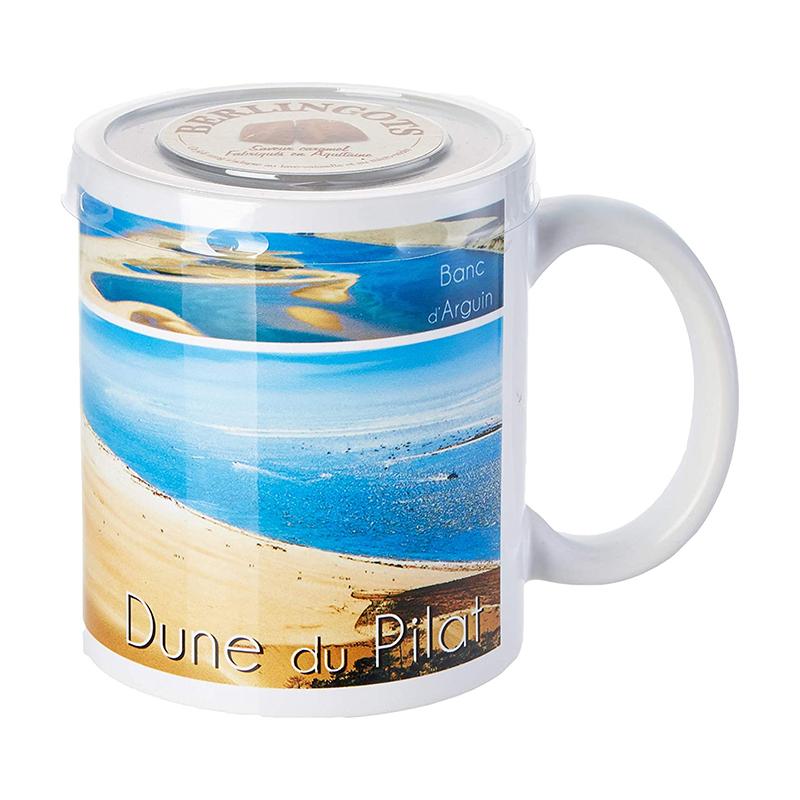 "Mug Garni de Berlingots Caramel ""Dune du Pilat"""