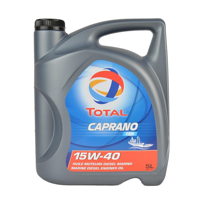 HUILE TOTAL 4T CAPRANO TDI 15W40 5L