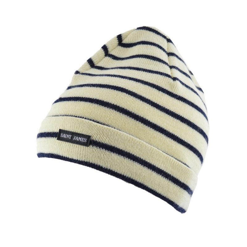 Bonnet de quart rayé SAINT JAMES