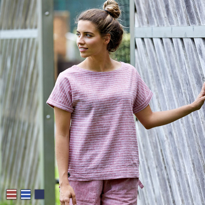 T-shirt marin ruban Batela...