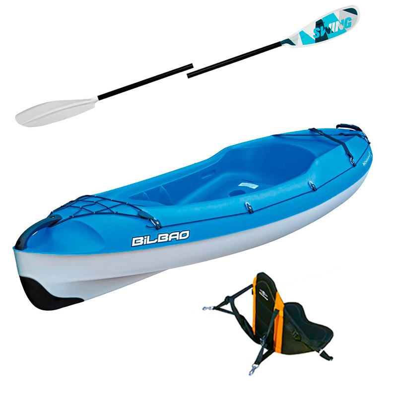 Pack Kayak Bilbao Sport + Accessoires - Bleu