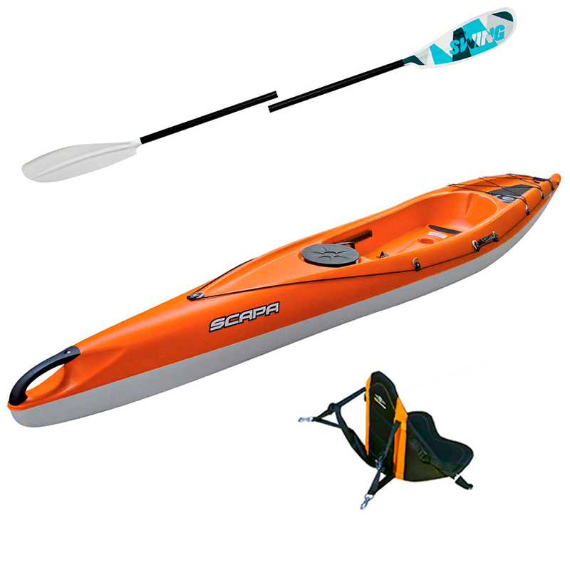 Pack Kayak Scapa Fit Performance + Accessoires - Rouge