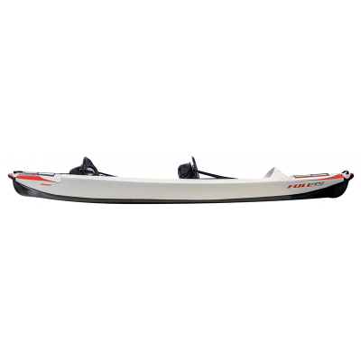 Pack Kayak Full HP 2 Personnes Gonflable + Accessoires - Blanc / Rouge (5)