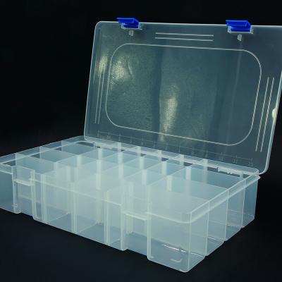 Boîte Plastique - 22 cases XL