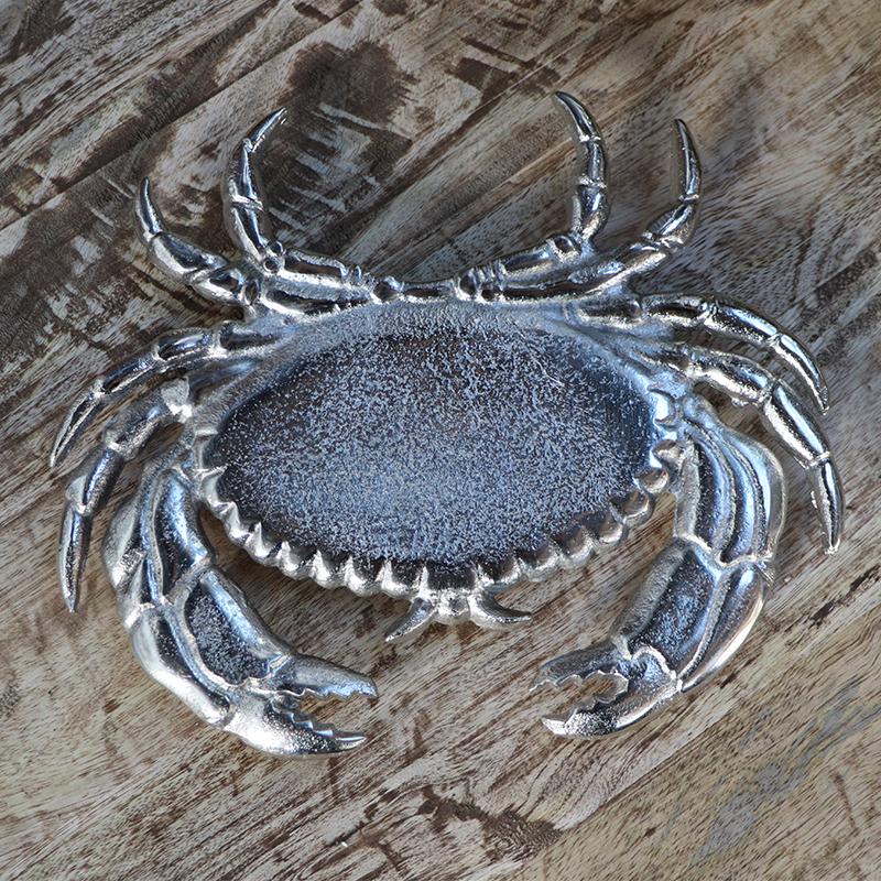 """Dessous de plat nickel """"Crabe"""""""