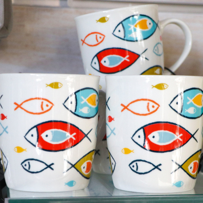 "Mug large collection ""Ondine"" (5)"