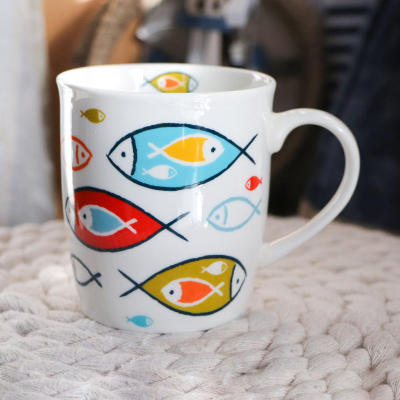 "Mug large collection ""Ondine"" (2)"